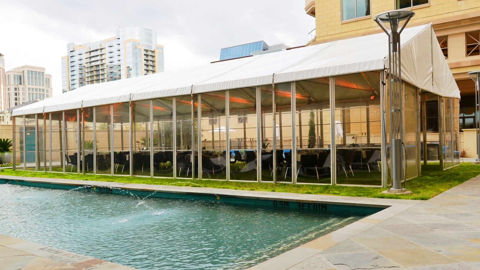 Uptown Dallas Weddings - Stoneleigh Court Tent